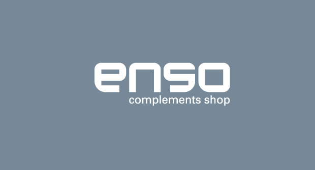 logotipo enso compleents shop