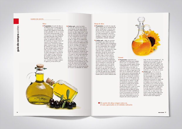 Maquetación revista eroski