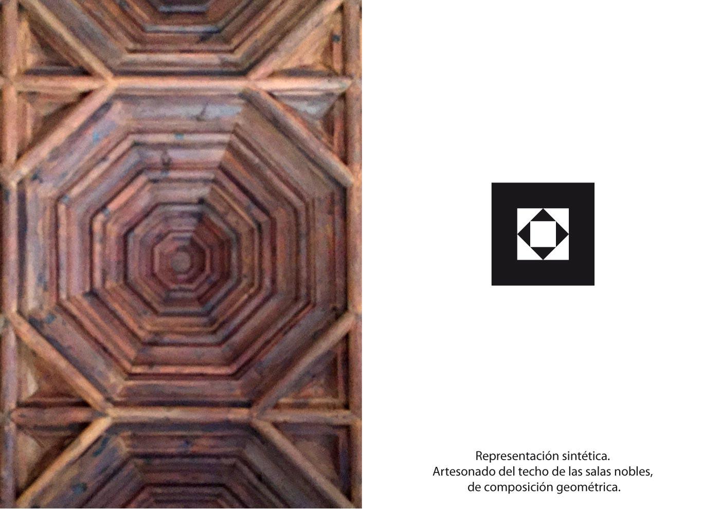 Centenario Castillo de alaquas artesonado madera