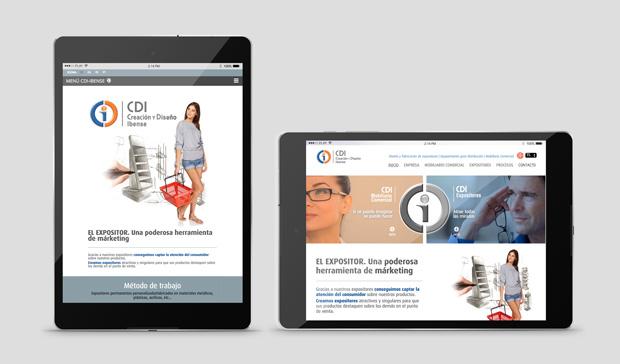 diseño responsive para tablets cdi