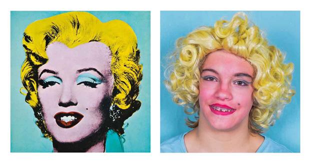 Marilyn Monroe Andy Warhol calendario 2017 CEE torrepinos