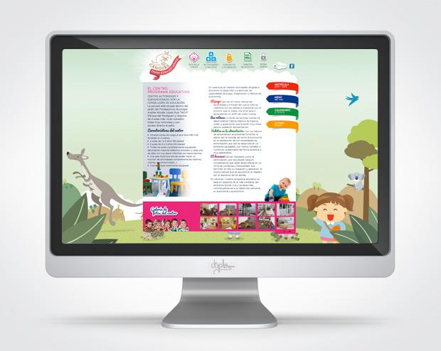 web guarderia cangurs aldaia