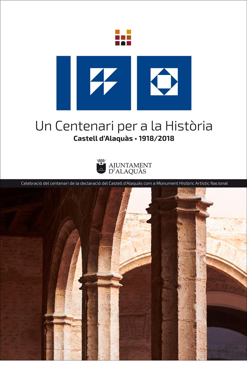 Cartel 100 aniversario castillo alaquas
