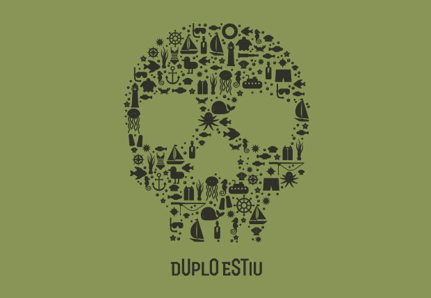 Diseño de camisetas para el verano DUPLO