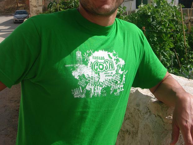 camiseta fiesta pueblo cosa