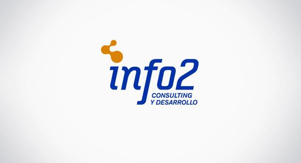 logotipo marca info2