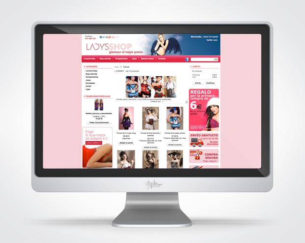 Tienda online ladys shop