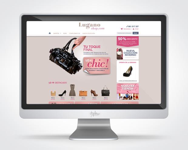 web tienda online lugano