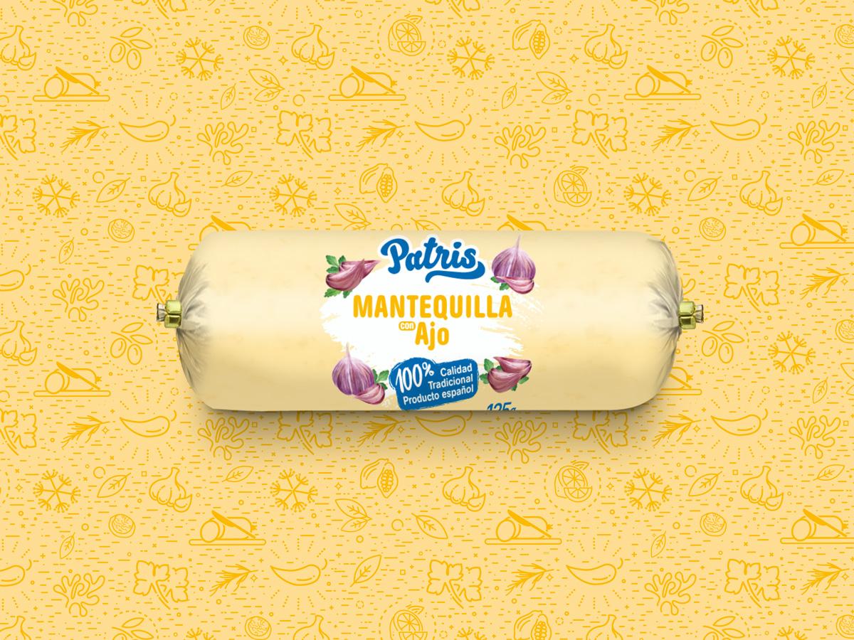 mantequilla con ajo patris