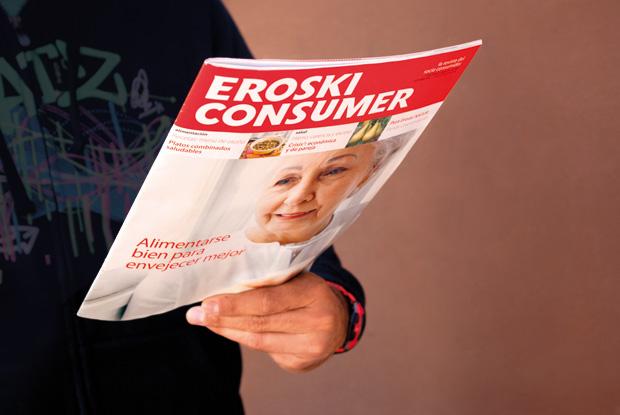 Chico con portada Eroski Consumer