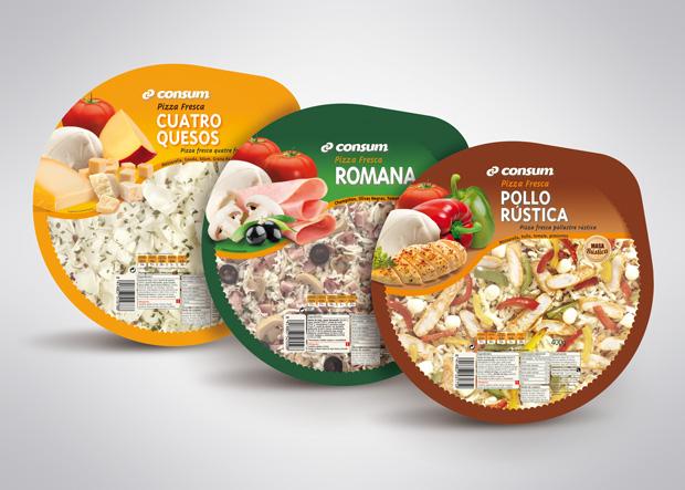 packaging o envase pizza fresca supermercado consum diseno Duplo Comunicacio Grafica