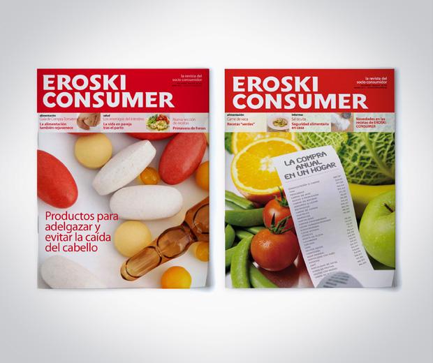 portadas rediseño revista consumidor
