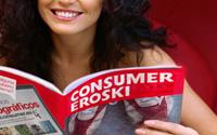 Diseño Revista Eroski Consumer Supermercados | DUPLO Comunicación Gráfica | Estudio de diseño gráfico, web y editorial.