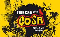 Cartel Fiestas del pueblo COSA | DUPLO Comunicación Gráfica | Estudio de diseño gráfico, web y editorial.