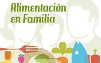 Cartel Alimentación en Familia | DUPLO Comunicación Gráfica | Estudio de diseño gráfico, web y editorial.