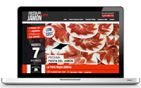 Web calendario fiesta del jamon