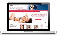 Diseño web tienda online erótica | DUPLO Comunicación Gráfica | Estudio de diseño gráfico, web y editorial.