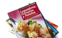 Diseño de Guía de Legumbres Eroski Supermercados | DUPLO Comunicación Gráfica | Estudio de diseño gráfico, web y editorial.