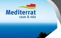 Diseño Logotipo Inmobiliaria Mediterrat | DUPLO Comunicación Gráfica | Estudio de diseño gráfico, web y editorial.