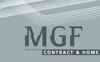 Logotipo Tienda de muebles MGF | DUPLO Comunicación Gráfica | Estudio de diseño gráfico, web y editorial.